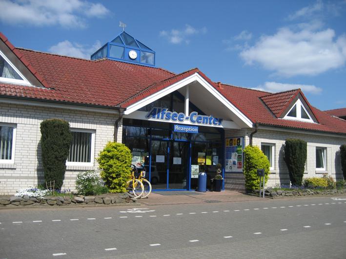 Anlaufstelle für Urlauber: Das Alfsee-Center.
