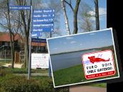 Der Alfsee ist ein Naturschutzgebiet und im Sommer ein beliebter Ferienpark.