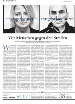 Die Wochenzeitung Die Zeit berichtet von katastrophalen Arbeitsverhältnissen der adidas-Leiharbeiter.