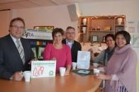 Arbeitsschwerpunkt KiTas: Dr. Baier im Bersenbrücker Astrid-Lindgren-Familienzentrum.