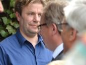 Beim Thema HaseEnergie schauen Sascha Dewitz, Vorsitzender der CDU AEK, und Samtgemeinde-Bürgermeister Horst Baier nicht in dieselbe Richtung.