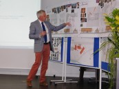 Anton Harms, Geschäftsführer der Alfsee GmbH. Hier im Finanz-Ausschuss der Samtgemeinde am 3. Juni 2015, bei der Präsentation der neuen Alfsee-Projekte.