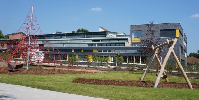 Die August-Benninghaus Oberschule in Ankum. Dr. Horst Baier könnte sich eine Umwandlung in eine IGS vorstellen.