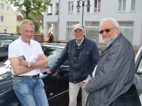 CDU-Trio: Bürgermeister Christian Klütsch, Vizebürgermeister Franz Buitmann und Fraktionschef Gerd Uphoff.