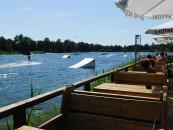 Ein Magnet am Alfsee: Die Wasserski-Anlage.