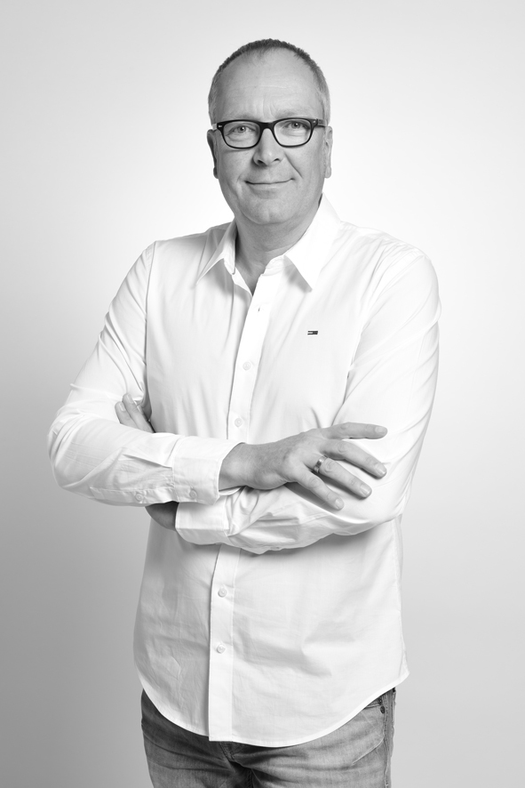 Jens Buß ist der Geschäftsführer der X-Image Werbeagentur des Medienparks in Ankum. Fotovermerk: Medienpark.