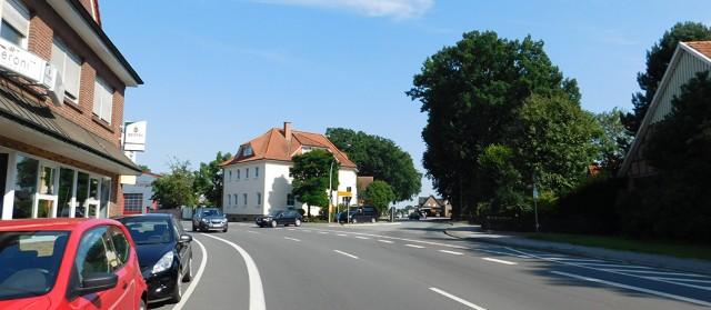 Eine mögliche Variante: Kein Kreisverkehr, sondern eine Ampelanlage an der Alfhausener Straße – B 214.