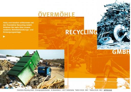 In Kettenkamp ansässig: Der Recycling-Betrieb Övermöhle. Screenshot von: http://www.oevermoehle-recycling.de/