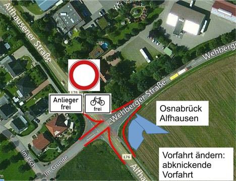 Den Verkehr umzuleiten, ist das Ziel der Anwohnerinitiative. © Grafik: aus dem Papier der Anwohner.