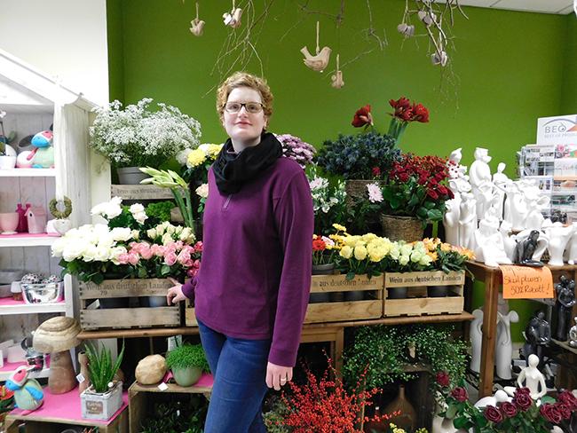 Auf Qualität, sagen ihre Kunden, ist bei Melanie Foppe (blumen creativ) Verlass.