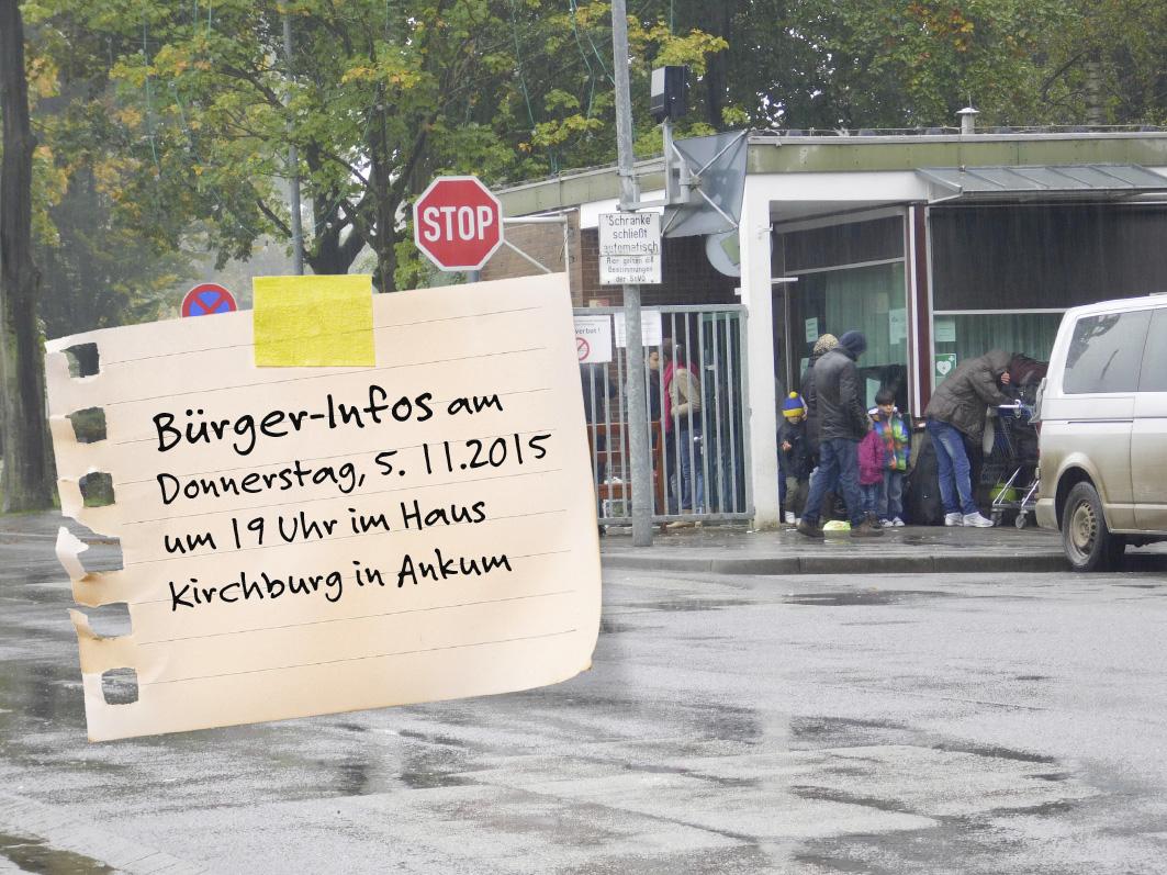 In Ankum gibt es am 5. November Informationen aus erster Hand zum Thema Flüchtlinge.