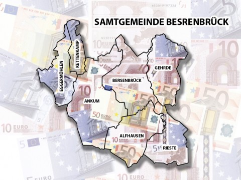 Welche Gemeinden können frohes Mutes dem Haushalt 2016 entgegensehen? Wo reicht es nur für das Nötigste? Hier ein Blick auf die Ausgangslage, von Alfhausen bis zur Samtgemeinde.