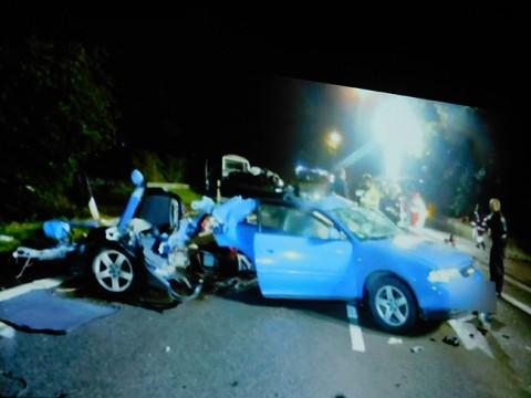 Vier Jugendliche starben bei 2013 bei einem Unfall in Dissen.