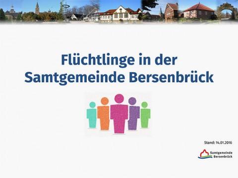 Auf allen Flüchtlingsveranstaltungen gibt es ausführliche Informationen der Samtgemeinde.