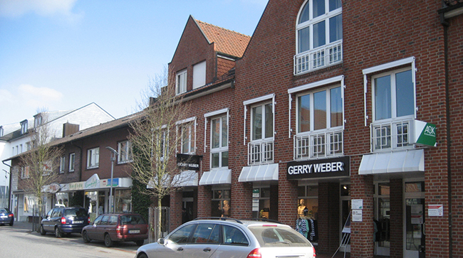Außer der Lindenstraße hat Bersenbrück mit der Bramscher Straße eine zweite Shopping-Meile.