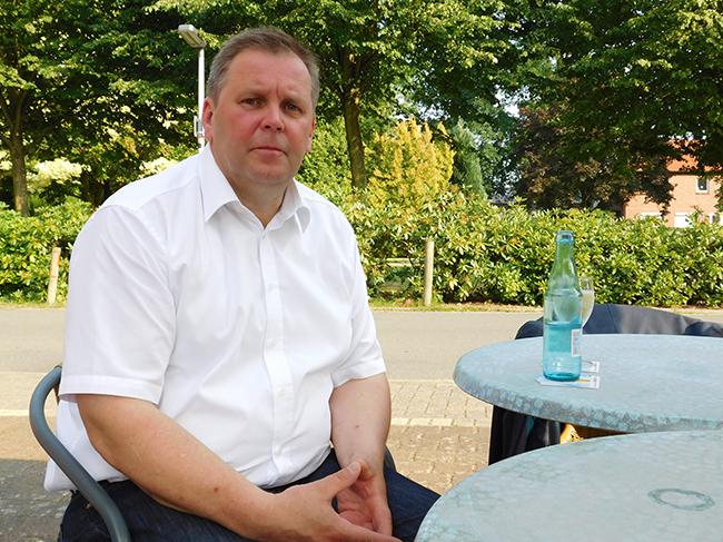 """Bürgermeister Klaus Wübbolding (CDU): Beließ es über Monate bei dem Eindruck, das Weßling-Grundstück sei eine """"Schenkung"""". Ein anonymer Informant machte öffentlich, dass dem nicht so ist."""