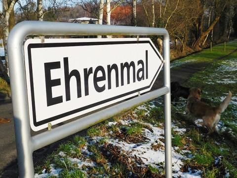 Sorgt für kontroverse Debatten in Rieste: Die teuren Pläne für eine Neugestaltung des Ehrenmalplatzes.