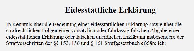 Wer nicht unterschreibt, macht sich verdächtig – Sinn und Zweck des von Bürgermeister Wübbolding an Ratsmitglieder verschickten Entwurfs einer eidesstattlichen Versicherung?
