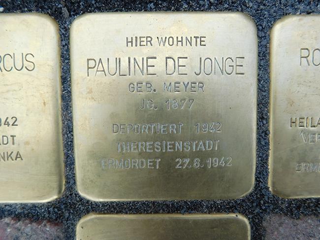 10-Stolpersteine-Pauline