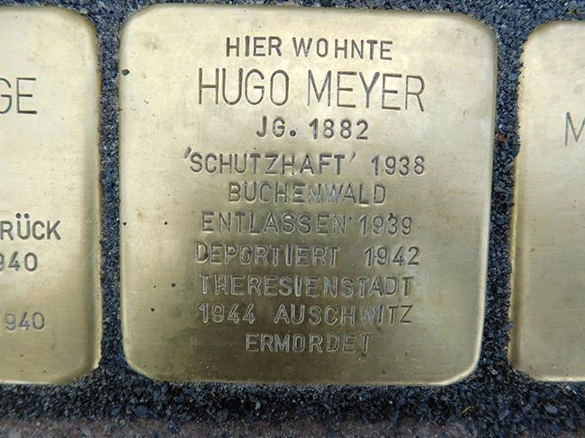 12-Stolperstein-Hugo