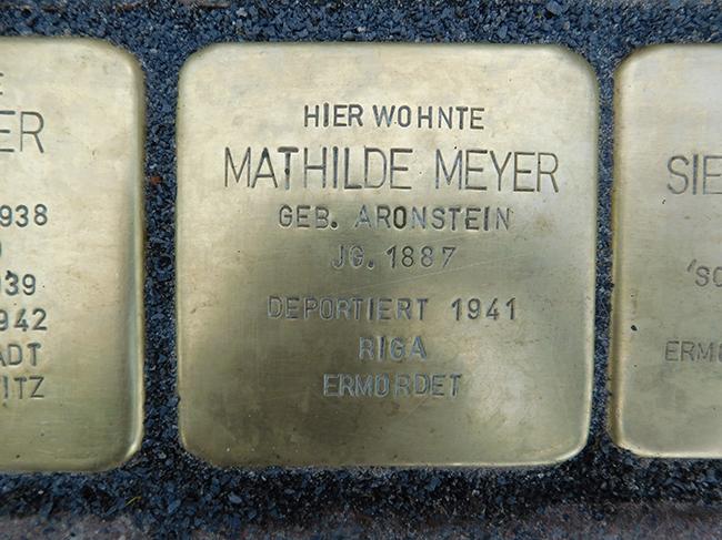 13-Stolperstein-Mathilde