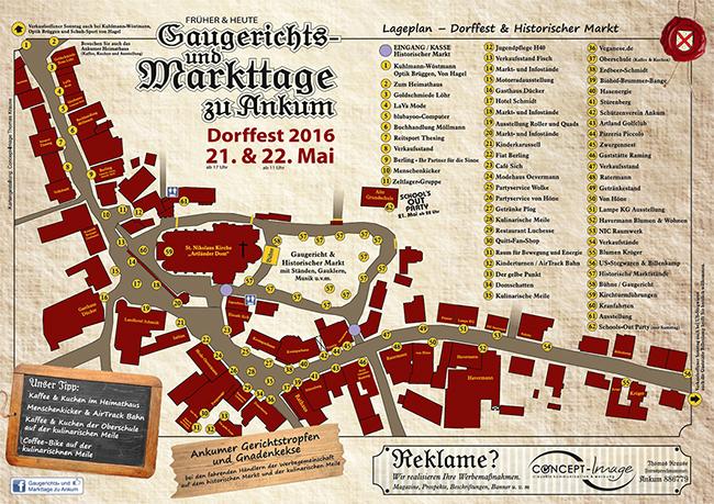 Die Hauptstraße wird zu einer Erlebnismeile. Auf dem Kirchburg-Gelände gibt es die Attraktion Nr. 1: Dort erleben die Besucher mittelalterliches Markt- und Gaukler-Treiben – plus Gerichtsverhandlungen.