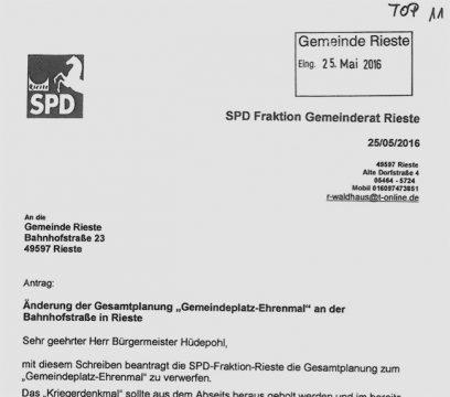 Hier der SPD-Antrag im Wortlaut.