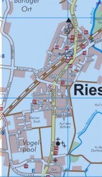 Liegt mitten im Ort: der Ehrenmalplatz. Screenshot: www.bersenbrueck.de.