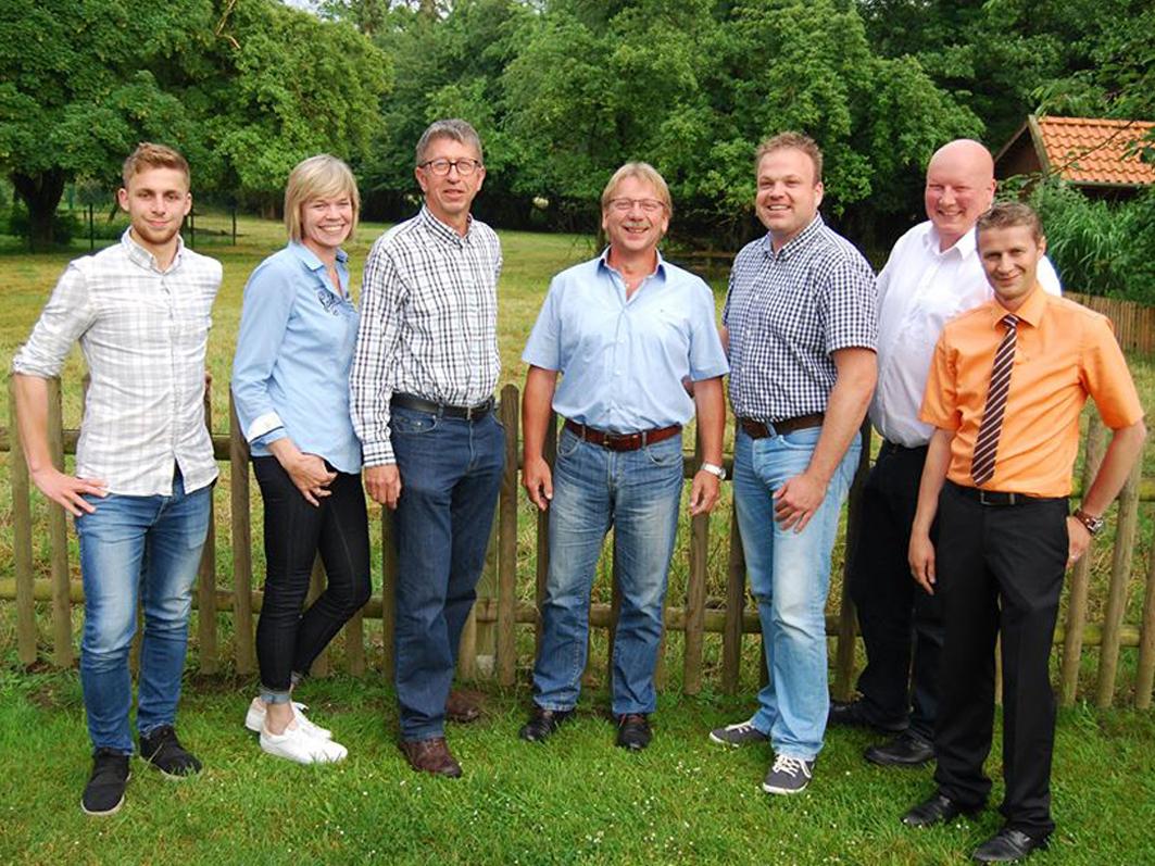 Die Kandidaten der SPD Rieste: