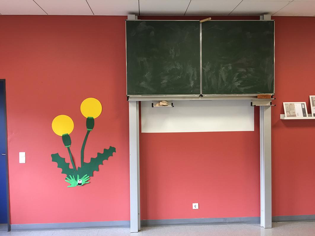 Übergangslösung in Alfhausen: Hier zogen KiTa-Kinder erst einmal in die Grundschule ein. Dieser Raum war einst ein Klassenzimmer.