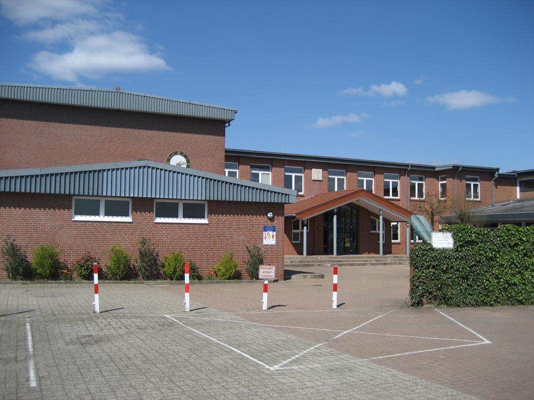 Die Grundschule Alfhausen: Gut ausgestattet für eine moderne Pädagogik und den Ganztagsbetrieb.