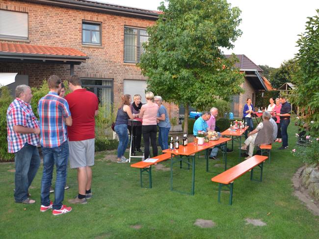 Gartenparty der SPD in Kettenkamp