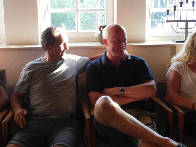 Große Freude bei der Bürgerliste (rechts Michael Lange) über das 4. Gemeinderatsmandat.