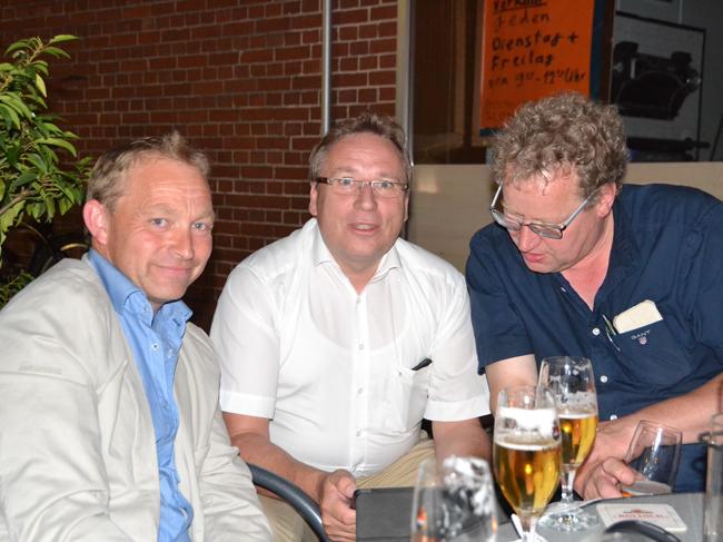 Drei, die sich im Samtgemeinderat treffen