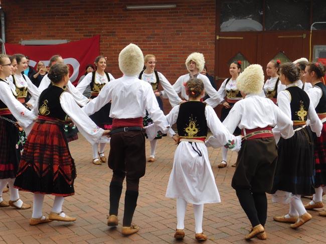 Tanzen Gruppe
