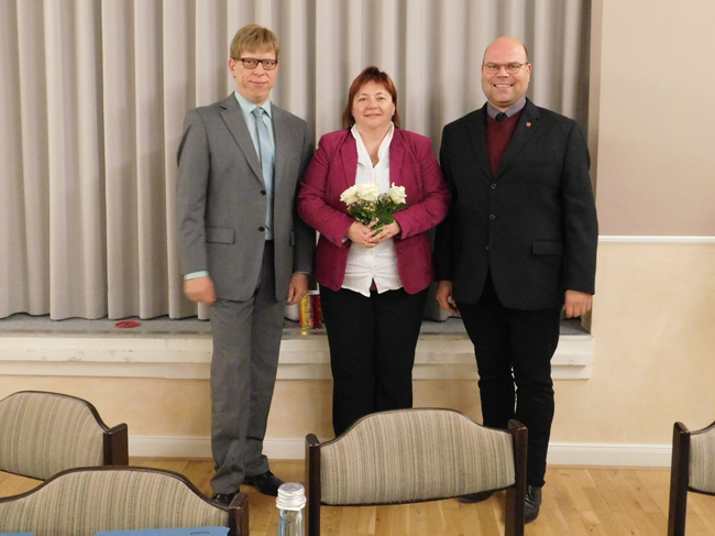 Mit Bürgermeister Sebastian Hüdepohl und den Stellvertretern Andrea Blanke und Markus Hörnschemeyer stellt die CDU nunmehr alle drei Bürgermeister.