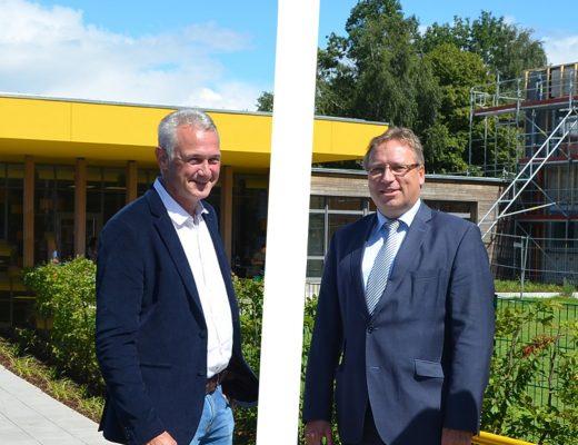 Der Anfang der Geschichte: Die Wahl von Christian Klütsch (CDU) zu einem Bürgermeister nach § 105.. Als Chef der Samtgemeindeverwaltung hat Samtgemeindebürgermeister Horst Baier das entscheidende letzte Wort.