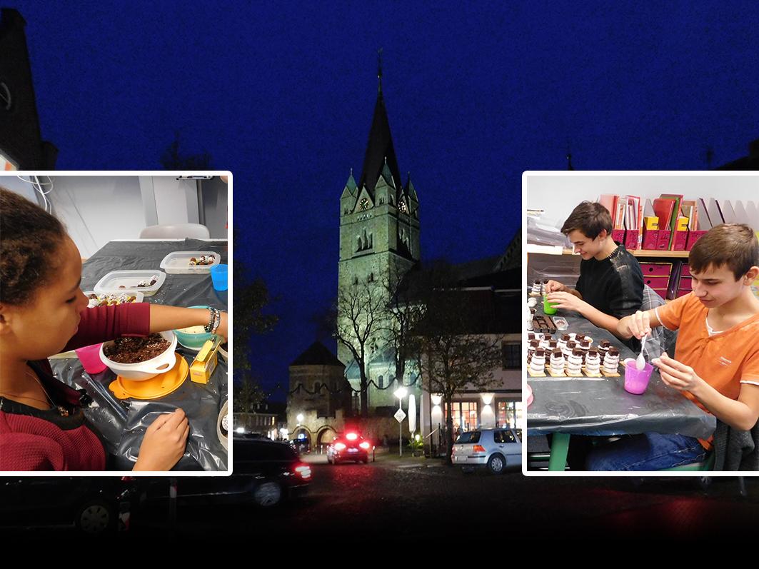 Am 29.11., dem 1. Adventssonntag, gibt es Weihnachtsmärkte in Alfhausen, Ankum, Gehrde, Kettenkamp und Rieste. Auf dem St.-Nikolaus-Markt in Ankum verkaufen Schülerinnen und Schüler Selbstgemachtes für einen guten Zweck.