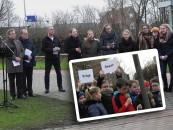 """Die diesjährige Holocaust-Gedenkfeier mit Grundschülern aus Gehrde und dem Chor der Evangelisch-Freikirchlichen Gemeinde (EFG) """"Wort des Lebens""""."""
