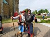 Schmecken, hören, schauen: Der Mittelalter-Markt ist ein Fest für die Sinne. Nach dem Start am Samstag wird der Besuchern am Sonntag ab 11 Uhr eine faszinierende Erlebniswelt geboten.