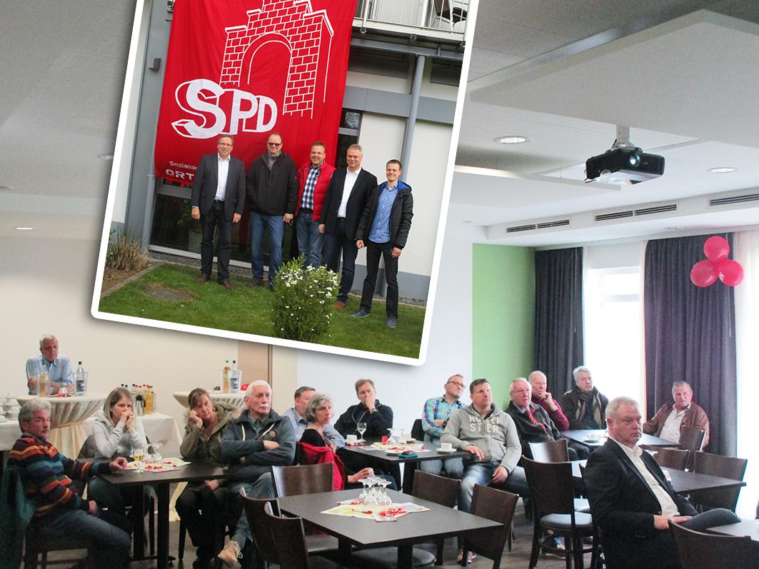 """Am 24. April hatte die SPD Rieste zu einer Bürger-Info-Veranstaltung eingeladen und war beeindruckt von der """"Ideenvielfalt"""". © Foto: SPD."""